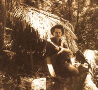 Gene Savoy Sr. in the peruvian jungle