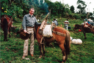 Gene Savoy on the second Gran Vilaya expedition circa 1989